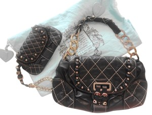 Juicy Couture Strawberry Fields Leather Shoulder Bag