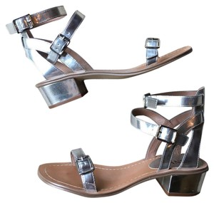 Renvy Silver Sandals