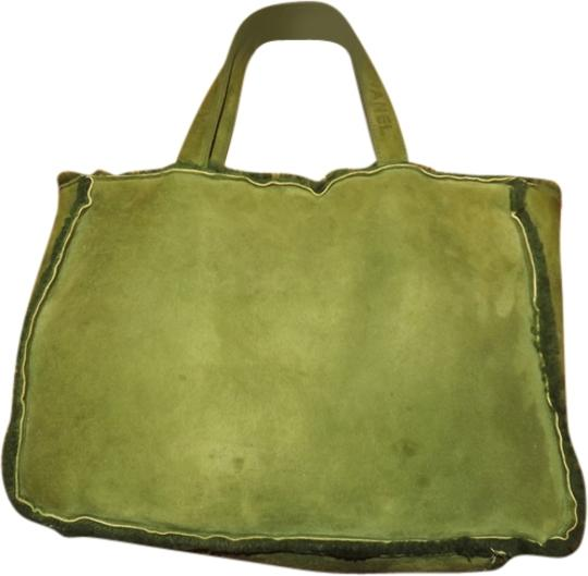Chanel Tote in green