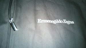 Ermenegildo Zegna Garment Dust Suit Travel Zenga Grey Travel Bag