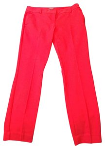 Express Straight Pants red