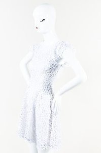 Alexis short dress White Embroidered Net on Tradesy