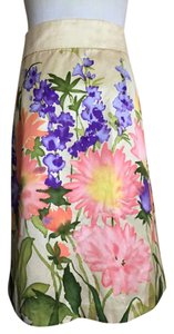 RED Valentino R.e.d. Watercolor Skirt