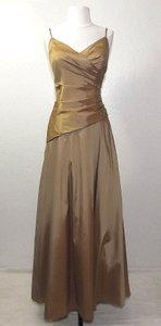 Venus Bridal Gold/Topaz Style D552 Dress