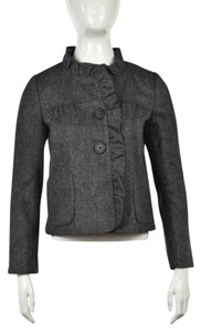 J.Crew Basic Black Grey/ black Jacket