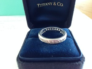 Tiffany & Co. Platinum And Diamond Full Circle Lucida Diamonds