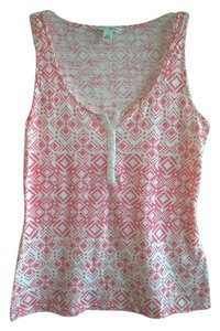 Banana Republic Top Pink print