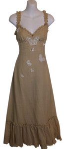 Beige Maxi Dress by Moschino Cheap And Chic