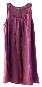 Calypso St. Barth short dress Dusty purple on Tradesy