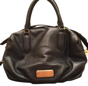 Marc By Marc Jacobs New Q Legend Tote Bag Satchel in Black