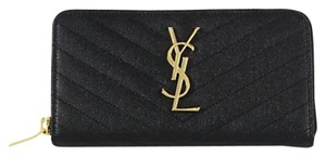 Saint Laurent Saint Laurent Monogram Zip-Around Wallet