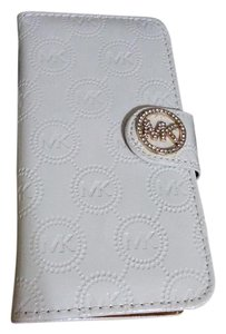 Michael Kors case wallet iphone 6/6s white color