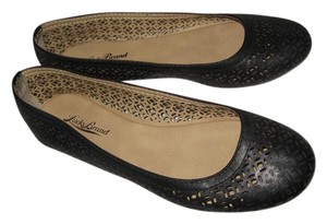 Lucky Brand Flat Leather Black Flats