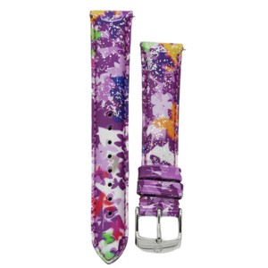 Michele MS18AA350884 Michele 18mm Butterfly Multi Patent Leather Strap Band
