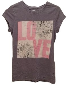 Mudd T Shirt Printed Dark Grey