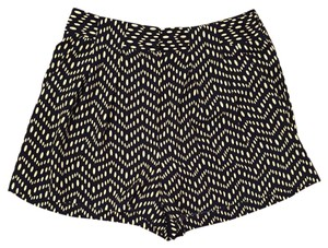 Forever 21 Dress Shorts Navy and Cream
