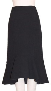Derek Lam Silk High End Skirt BLACK