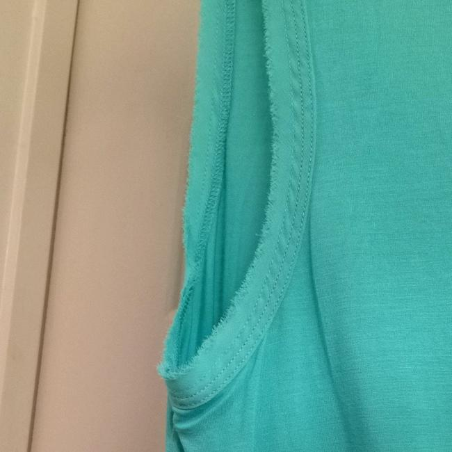 Juicy Couture Sleeveless Casual Designer Top Turquoise