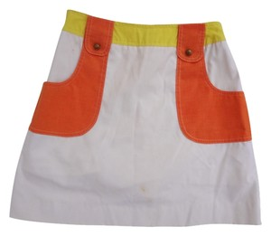 Arnold Palmer Mini Vintage Mini Skirt orange