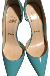 Christian Louboutin Opaline, Green, Blue, Pumps