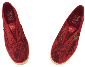 Keds Taylor Swift Sneaker Red Flats