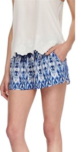 Joie Silk Shorts Blue