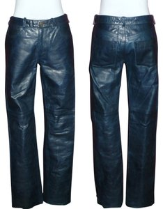 Earl Jean Boot Cut Pants Navy Blue
