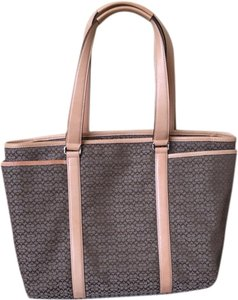 COACH Diaper Tote in Tan