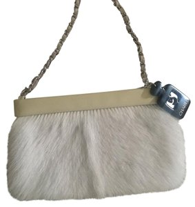 Chanel Wristlet in Creme