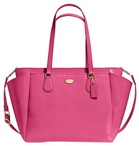 Coach DAHLIA PINK Diaper Bag