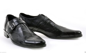 Versace Black New Leather Shoes