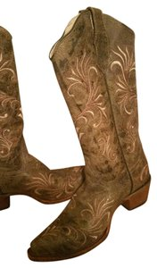Code G Brown Boots
