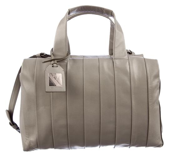 Reed Krakoff Leather Work Everyday Satchel in Gray
