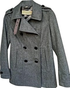 Burberry Brit Jacket Winter Fashion Wool Pea Coat