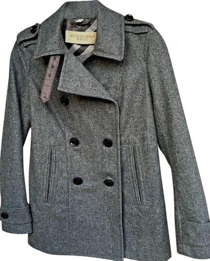 f42b480cf 50%OFF Burberry Brit Burberry L Double Breasted Pea Coat - 53% Off ...