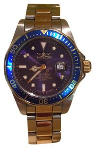 Invicta Pro Diver Two Toned SS Blue Dial