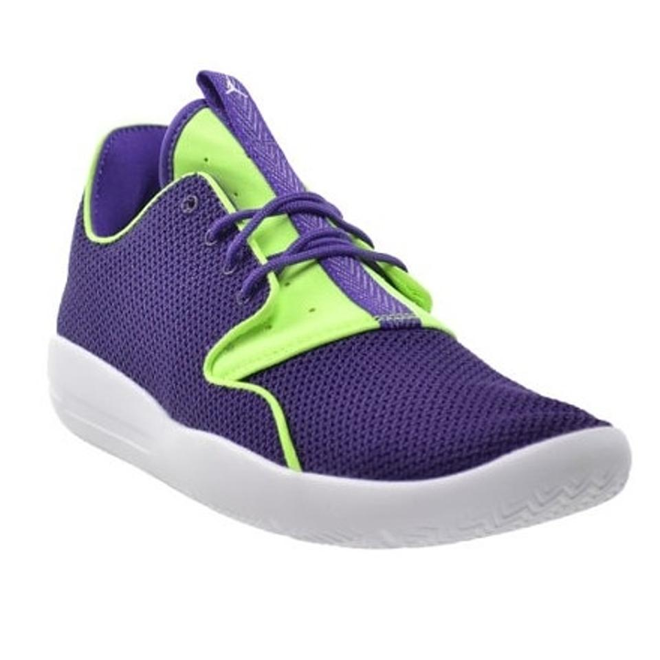 new concept 67081 a6dbe Nike Purple/Neon Kid's Jordan Eclipse Ultraviolet/Ghost Green Sneakers Size  US 4 Regular (M, B) 45% off retail