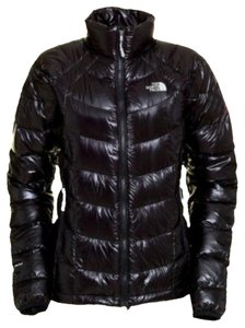 The North Face black down ski jacket