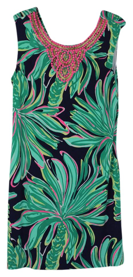 Lilly Pulitzer Tiger Palm Bristol Mid-length Night Out Dress Size 16 (XL,  Plus 0x) 85% off retail
