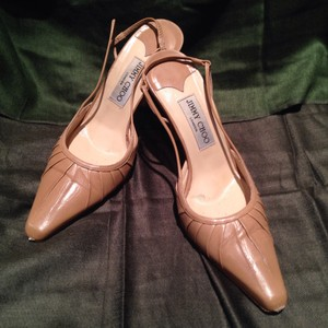 Jimmy Choo Camel Pumps