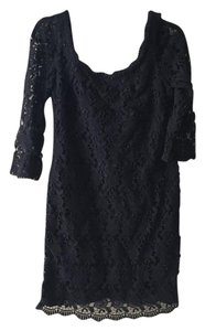 White House | Black Market Formal Lace Embellished Dress