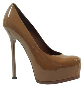 Saint Laurent Ysl Pumps Triptoo Pumps Pumps brown Platforms