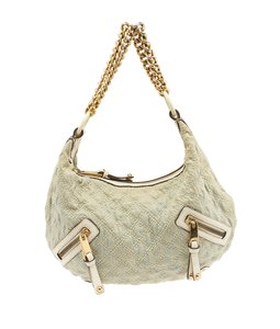 Marc Jacobs Mj Hobo Denim Shoulder Bag