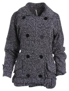 Free People Double-breasted Pea Coat