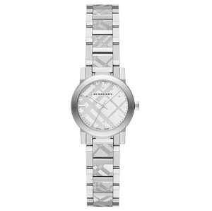 Burberry Burberry BU9233 The City Women's Swiss Silver Stamped Watch NEW!
