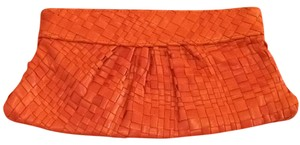 Lauren Merkin Bright Coral Clutch