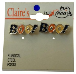 Claire's Claire's Halloween Boo Earrings