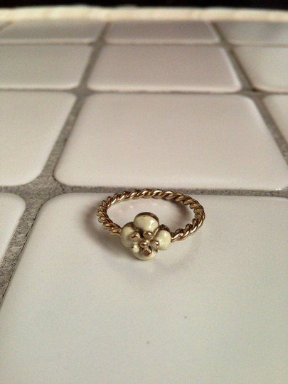 Chanel Chanel Camelia CC Logo Stackable Rings