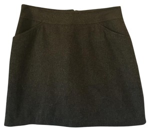 Old Navy Mini Skirt Gray