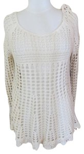 Free People New Boho Crochet Sweater